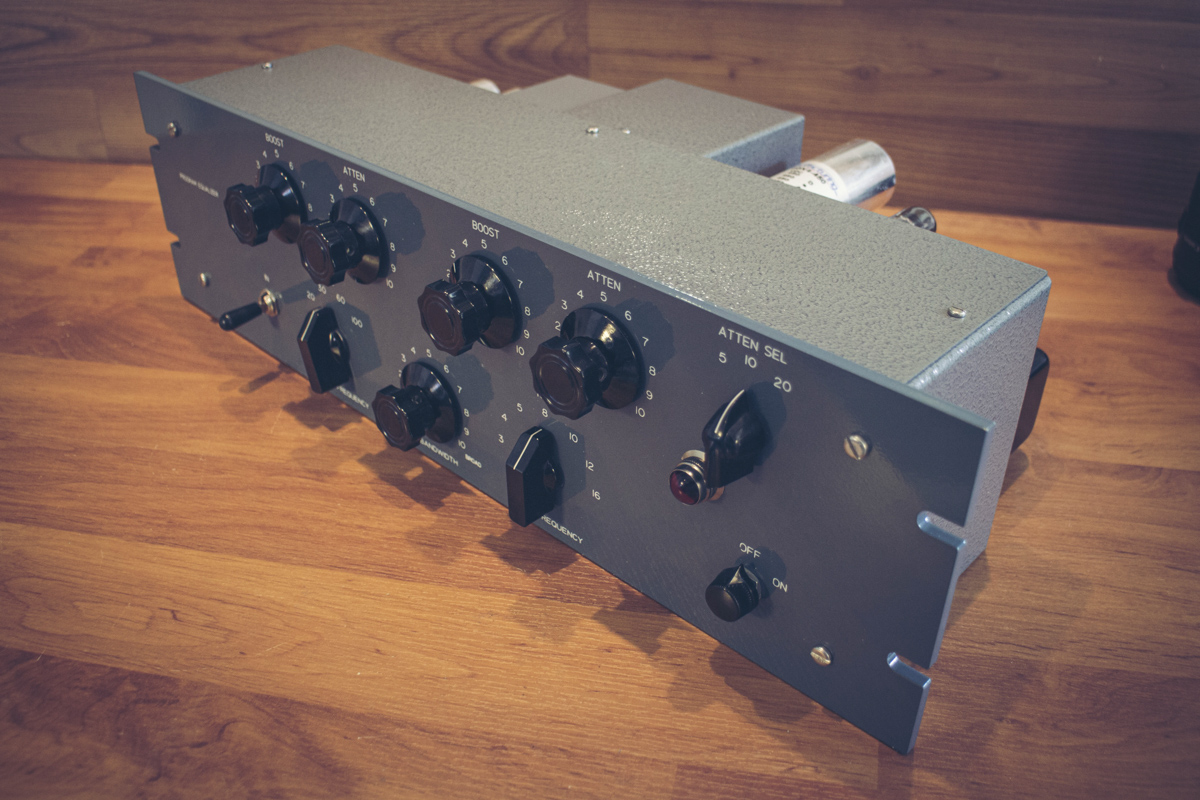 pultec eqp-1a tube programm equalizer complete kit diy analogvibes 1a