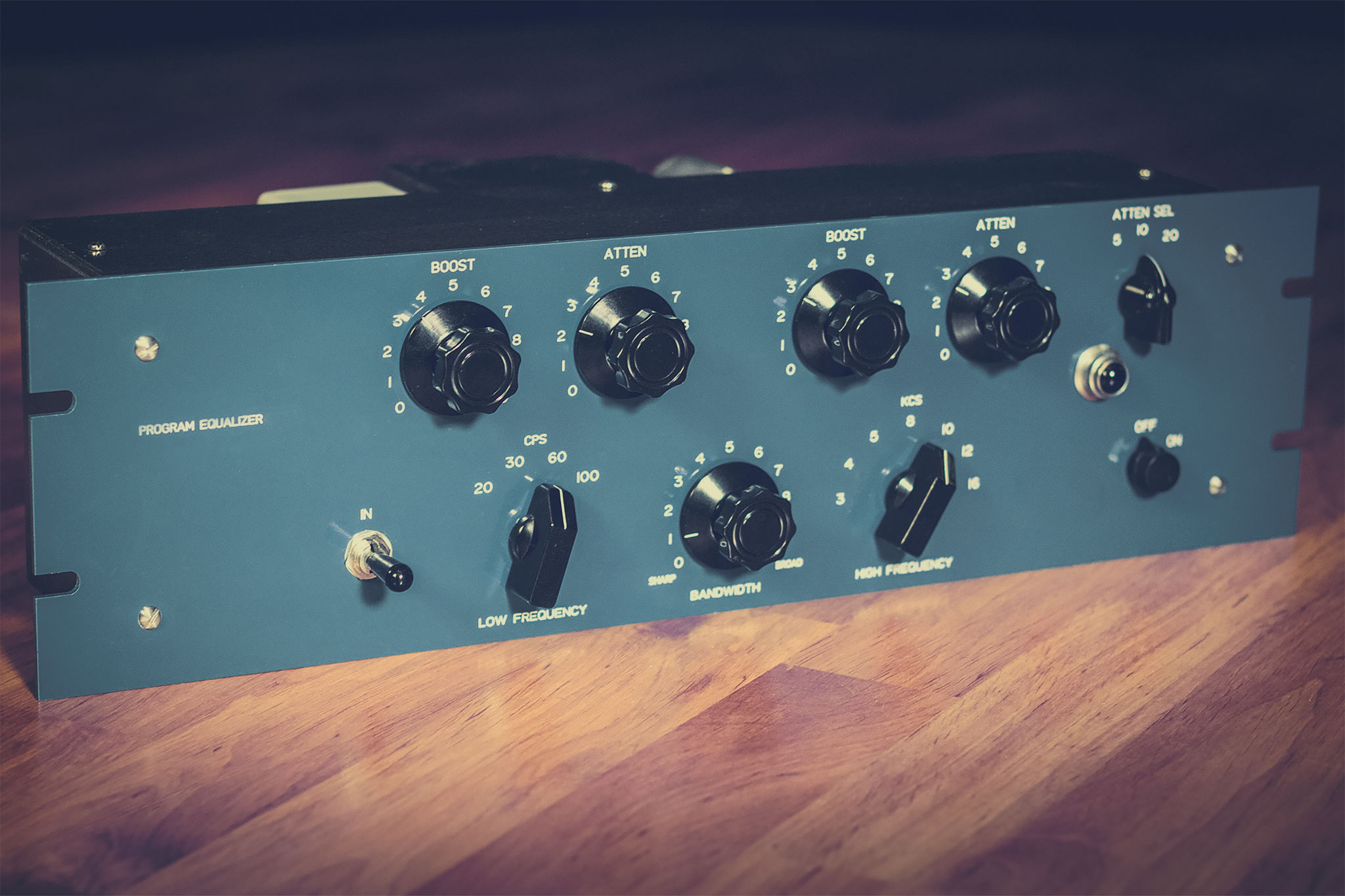Using two Tube Program Equalizers on a stereo buss – can I match two units?