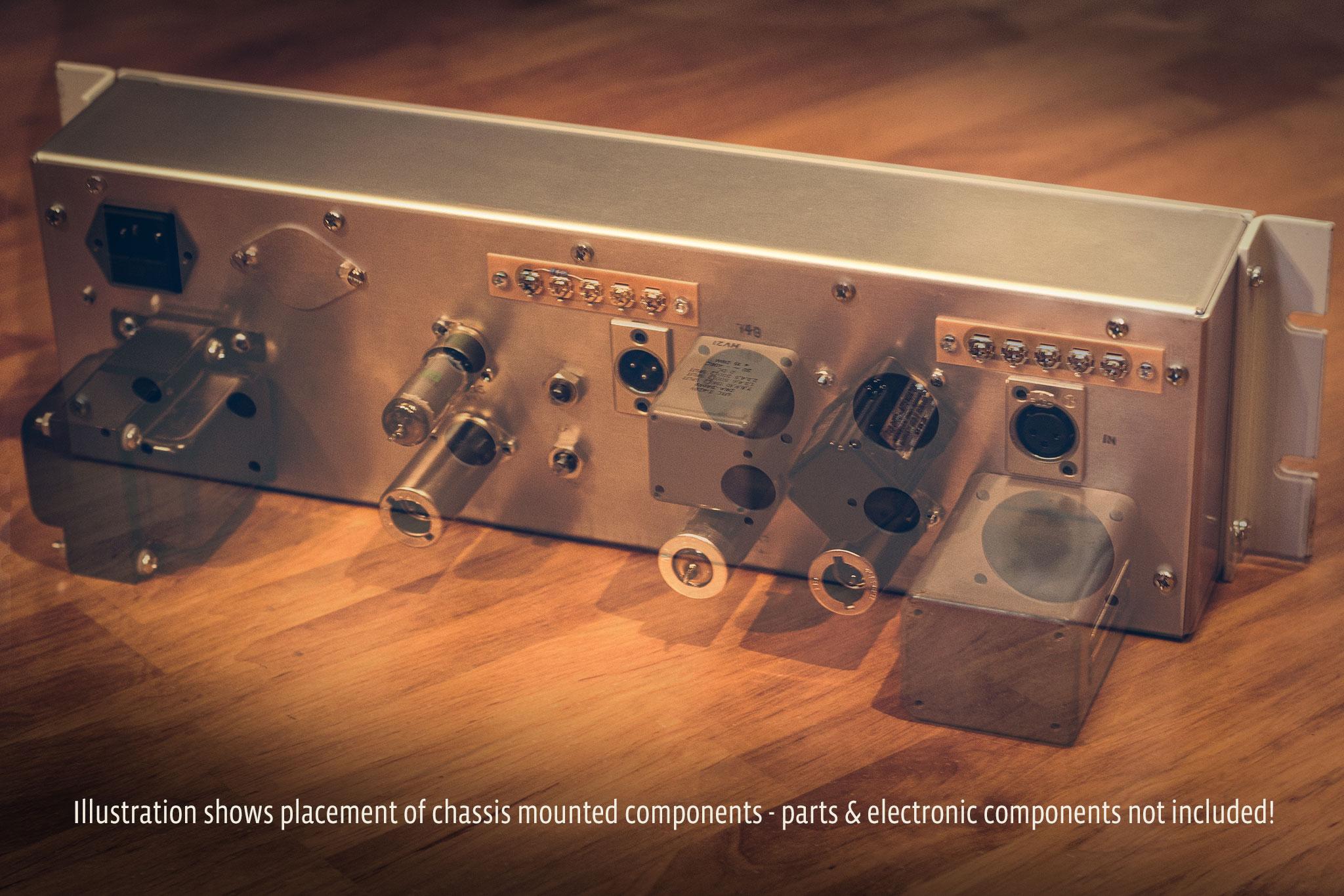 Tube Opto Compressor Chassis Kit